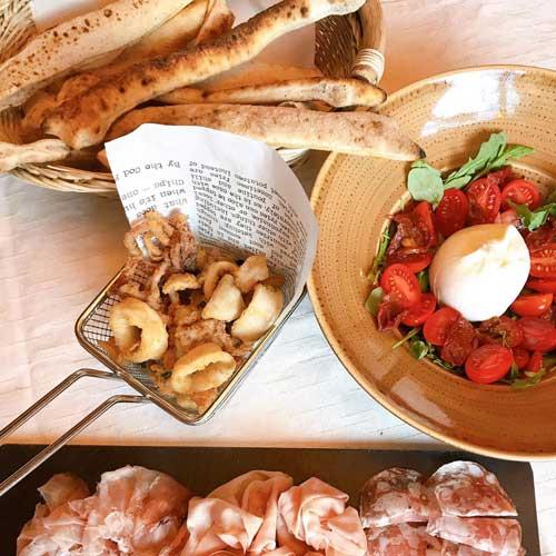 Cocina Mediterránea para Grupos Sagrada Familia